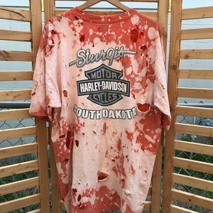 """Distressed"" Vintage 2001 Harley Davidson Shirt"